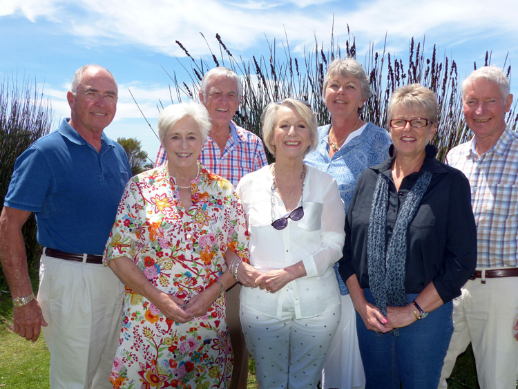 The St Francis Bay Bridge Club Committee for 2017