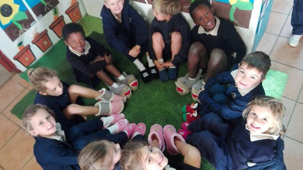 Slipper Day at St Francis College
