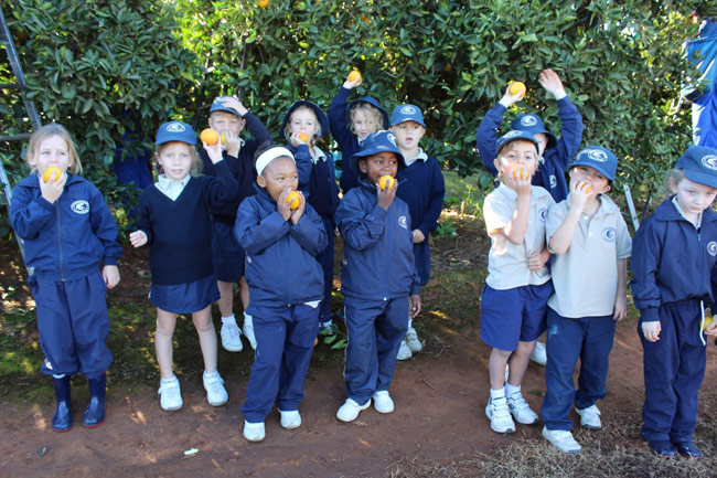 Grade-0 Outing to Citrus Farms