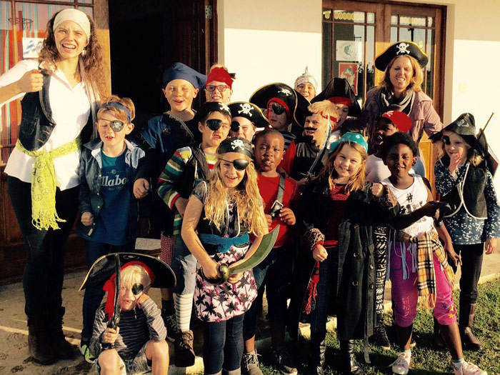 Grade Two Pirate Day at St Francis College