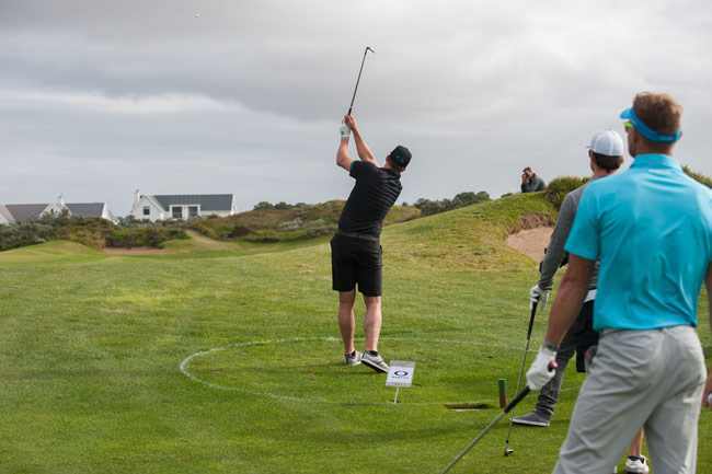 JBay Winterfest - Golf at The Links in St Francis is part of the Oakley X Over event. ©Kolesky/Nikon/Lexar