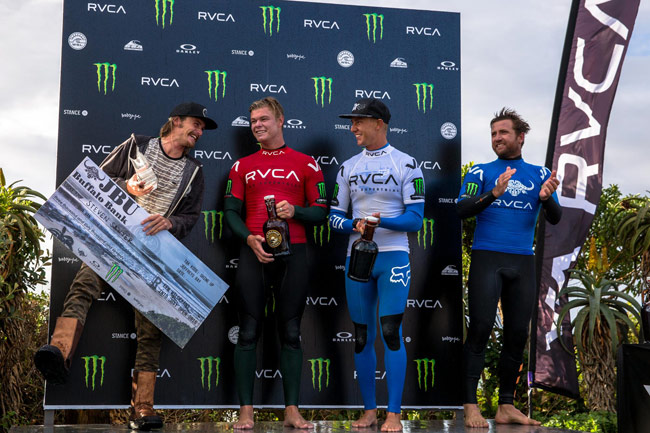 Winners Podium JBU Supertrial