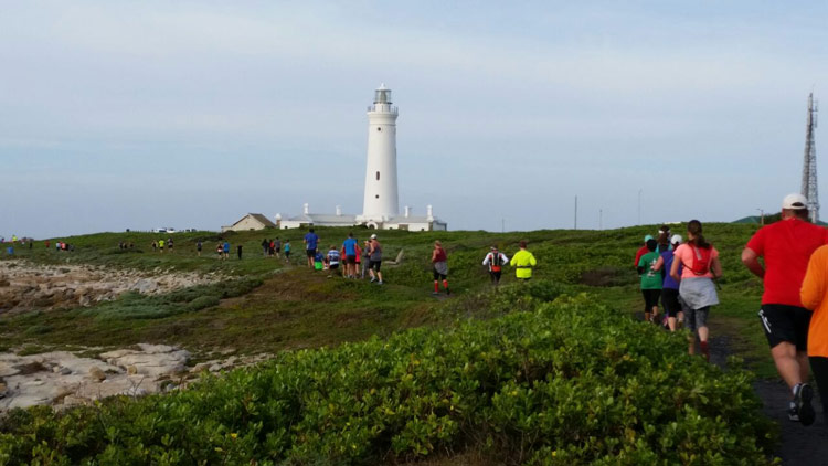 On the trail towards the lighthouse at Seal Pont, Cape St Francis