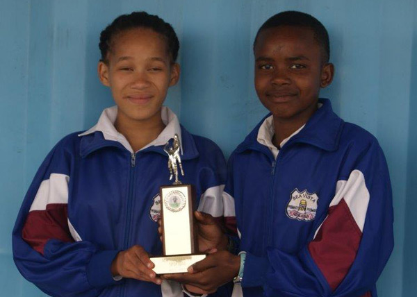Sea Vista Primary School Sport stars of the year