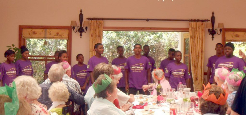 LAMP performing at Prime Timers lunch Dune Ridge, St Francis