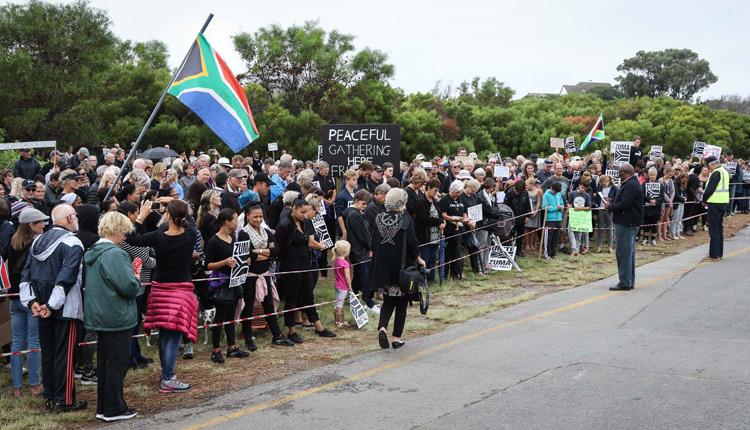 St Francis supporting #Zumamustgo