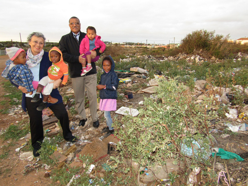 Mayor Elza van Lingen clean-up intervention