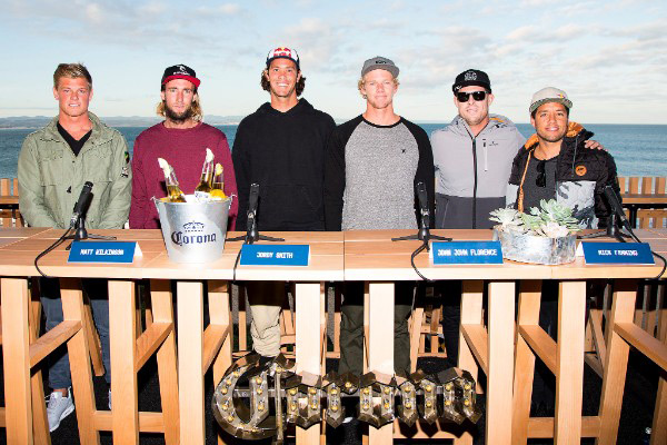 Top surfers for Corona Open J-Bay