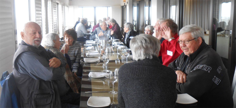 Prime Timers lunch at St Francis Links
