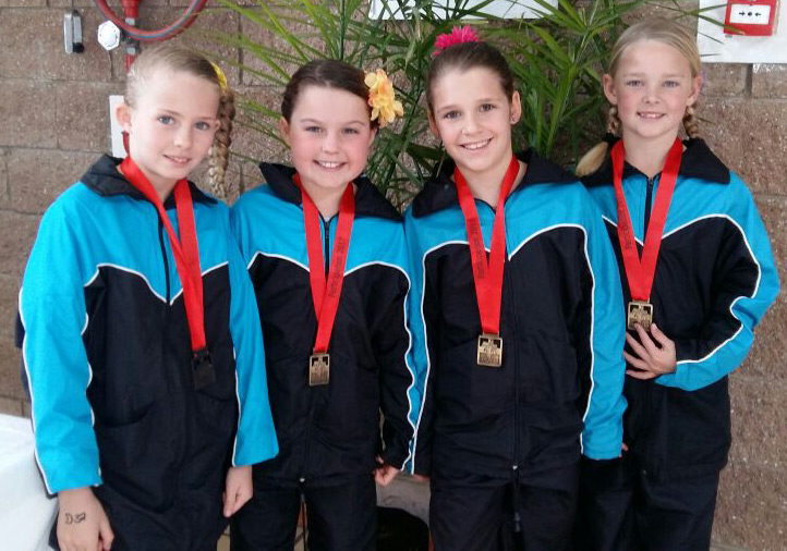 College Girls Score at Fun Gymnastics