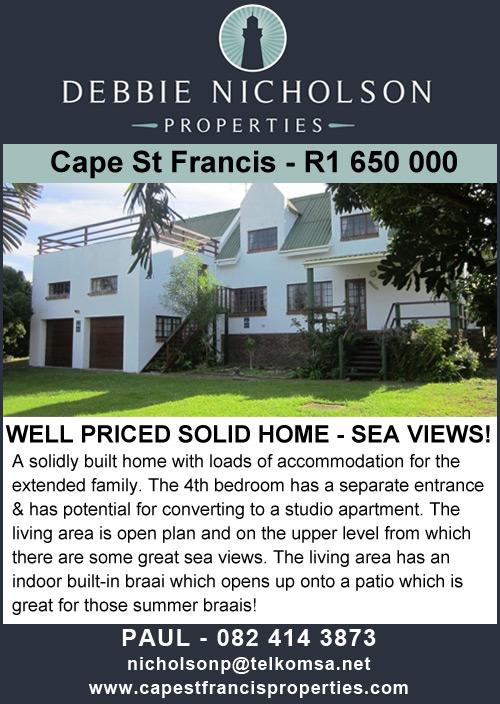 Debbie Nicholson Properties - Cape St Francis