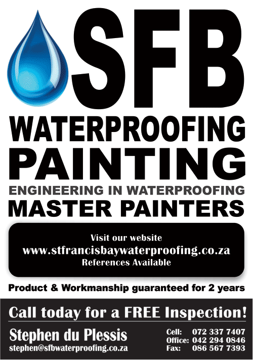 St Francis Bay Waterproofing