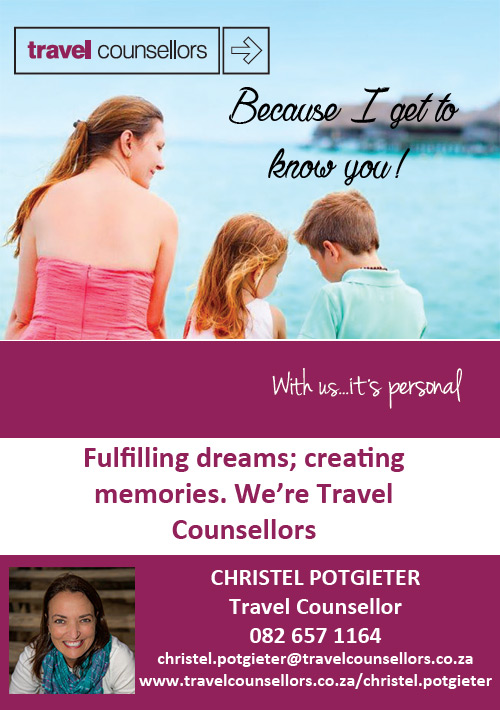 I am Christel a Travel Counsellor for St Francis & Paradise Beach