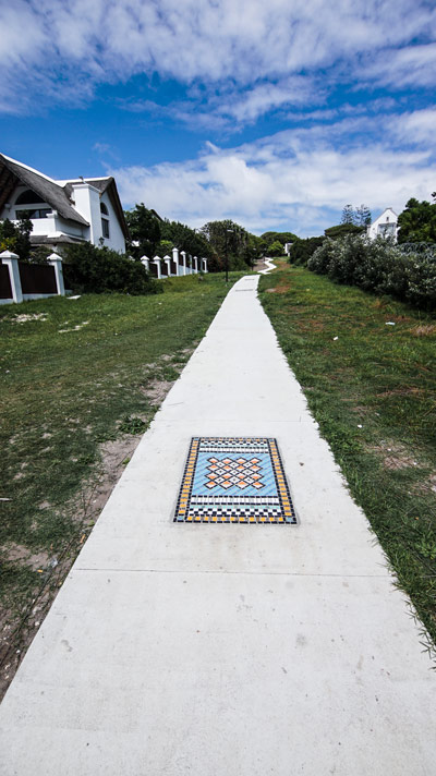 Pathway from Sea Vista to St Francis CBD
