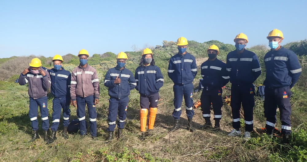 Working with fire - Irma Booysen Reserve
