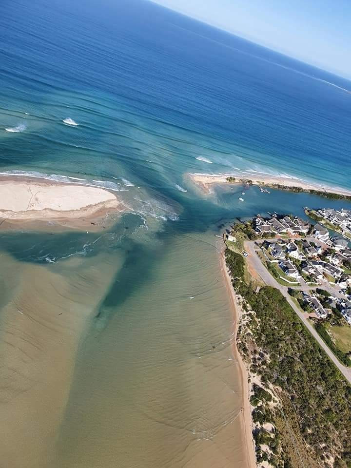 Spit breach at Kromme River mouth