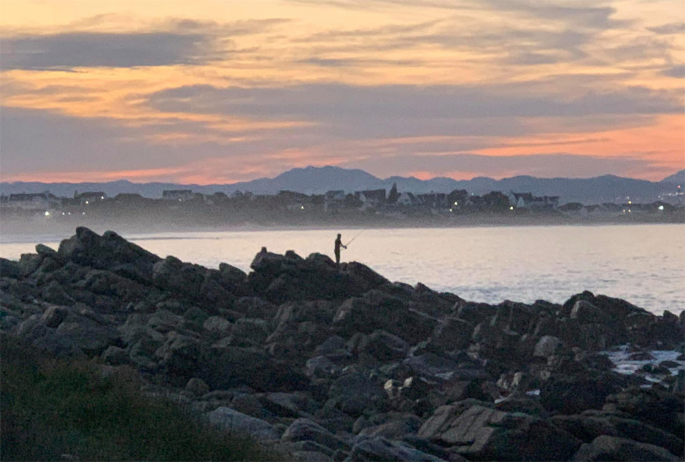 North facing sea views
