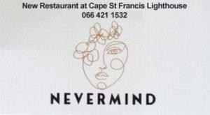 Nevermind Restaurant Cape St Francis Lighthouse